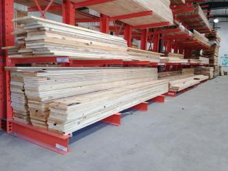 1 x 12 Rough Sawn Knotty Pine Barn Board