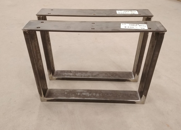 "Coffee Table - 1"" x 3"" Metal Tubing U-Base"