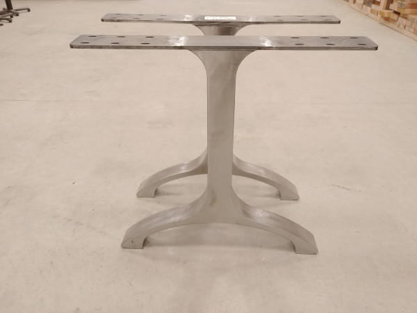 Table - Polished Arch T-Base
