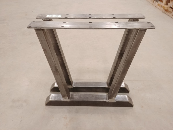 Table - Metal Tapered Base