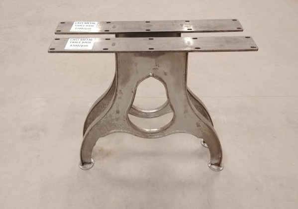 Table - Metal Cast Style Base