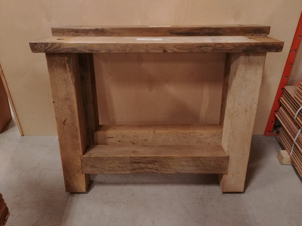 Table - Reclaimed Pine Farmhouse Base