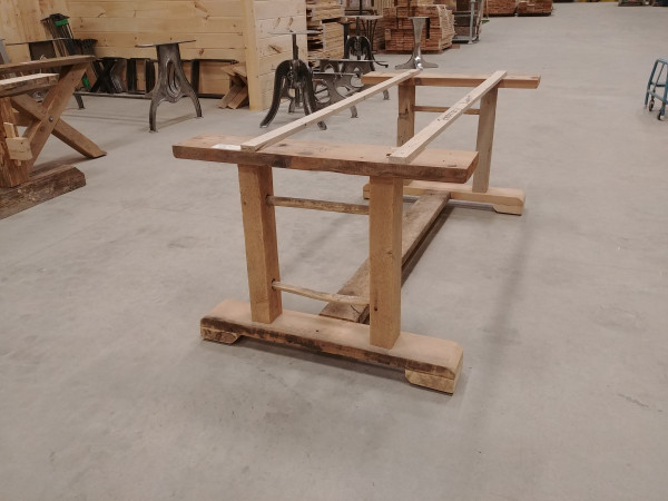 Table - Reclaimed Pine Ladder Base