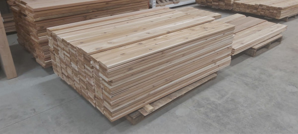 Western Red Cedar, Select Tight Knot - 8' and longer