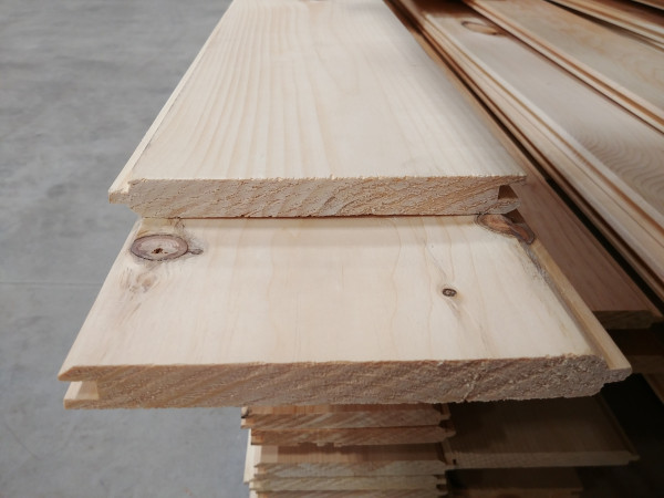Knotty Pine Tongue & Groove